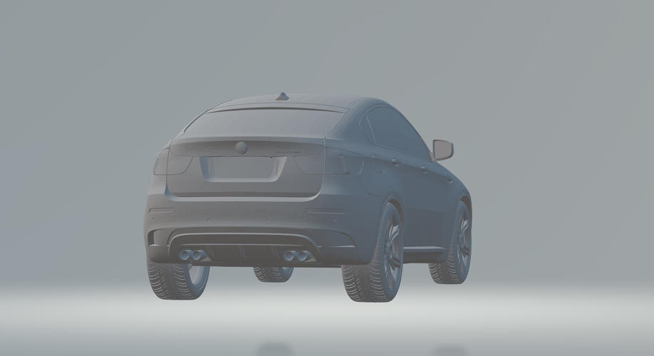 BMW X6 3D CAR MODEL HIGH QUALITY 3D PRINTING STL FILE 3D Print 256717