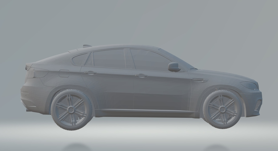 BMW X6 3D CAR MODEL HIGH QUALITY 3D PRINTING STL FILE 3D Print 256718