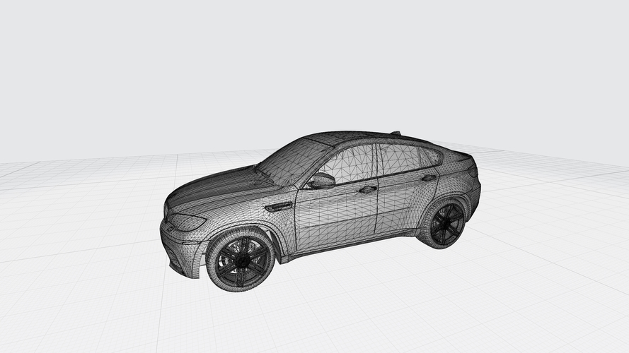 BMW X6 3D CAR MODEL HIGH QUALITY 3D PRINTING STL FILE 3D Print 256720