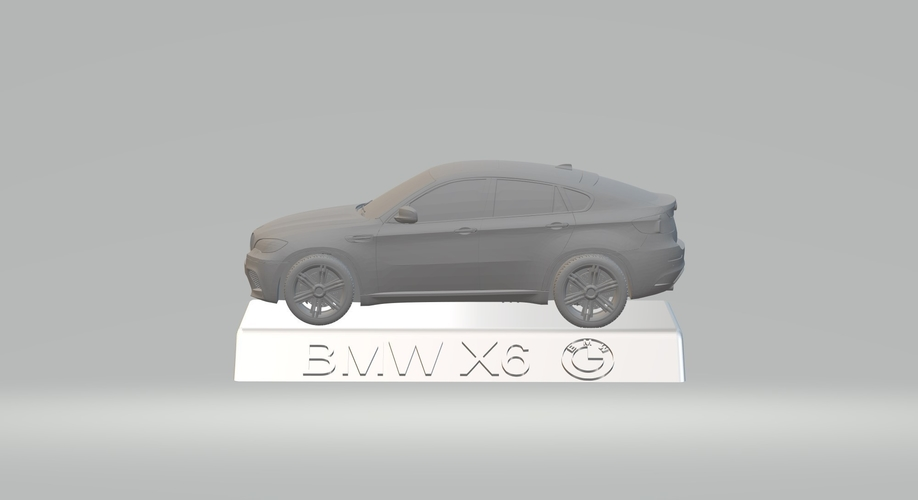 BMW X6 3D CAR MODEL HIGH QUALITY 3D PRINTING STL FILE 3D Print 256721