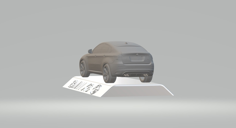 BMW X6 3D CAR MODEL HIGH QUALITY 3D PRINTING STL FILE 3D Print 256722