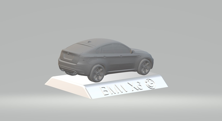 BMW X6 3D CAR MODEL HIGH QUALITY 3D PRINTING STL FILE 3D Print 256723