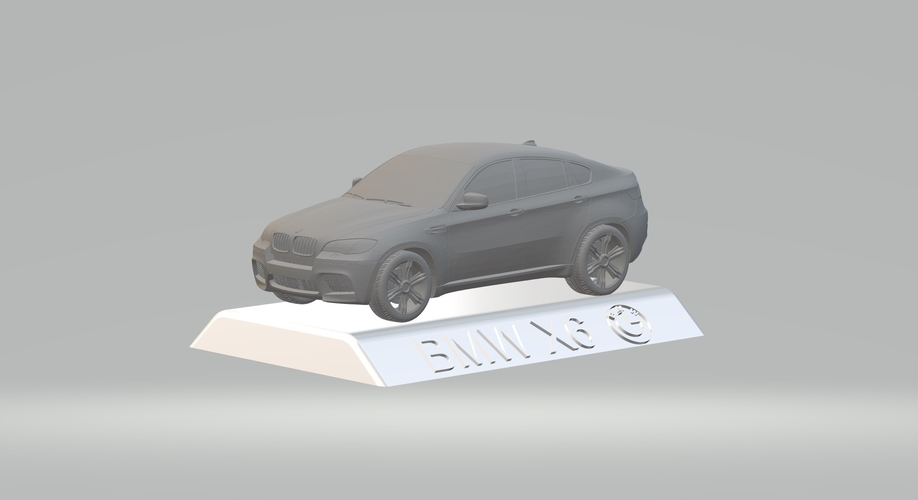BMW X6 3D CAR MODEL HIGH QUALITY 3D PRINTING STL FILE 3D Print 256724