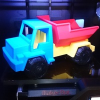 Small Toy Dump Truck 3D Printing 25675