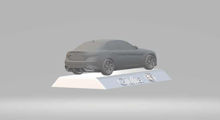 ALFA ROMEO GIULIA 3D CAR MODEL HIGH QUALITY 3D PRINTING STL FILE 3D Print 256769