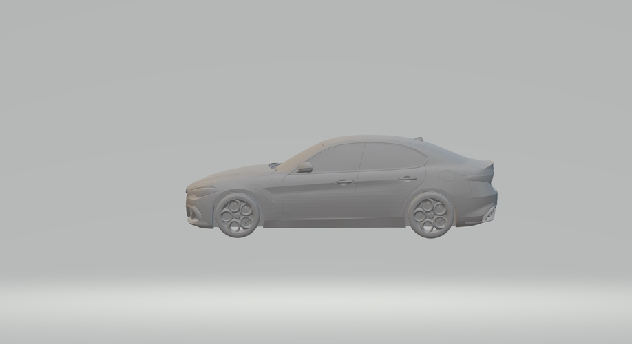 ALFA ROMEO GIULIA 3D CAR MODEL HIGH QUALITY 3D PRINTING STL FILE 3D Print 256770