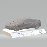 Small BMW i8  3D CAR MODEL HIGH QUALITY 3D PRINTING STL FILE 3D Printing 256830