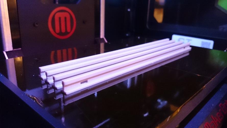 3d Printed Model Railway Tracks  1 32  Openrailway  By