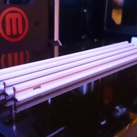 Small Model Railway Tracks (1:32, OpenRailway) 3D Printing 25687