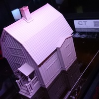 Small Swedish house, model (1:87, OpenRailway) 3D Printing 25690