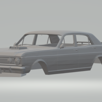 Small ford falcon xy australian 3D Printing 256976