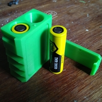 Small 18650 battery case 3D Printing 256980