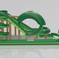 Small FOREST REAL - Tiny Town Racing  (Track 01) FREE 3D Printing 256986