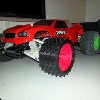 Small OpenRC Truggy Tire (Experimental) 3D Printing 25714