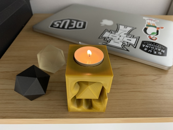 Tealight holder  3D Print 257357