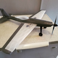 Small Falcon s 3d Printable Plane 3D Printing 257399
