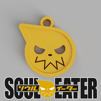 Small Soul Eater Pendant 3D Printing 257405