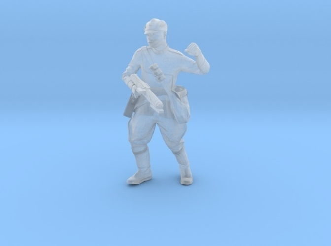 Clone Officer Set-1 Legion Scale  3D Print 257430