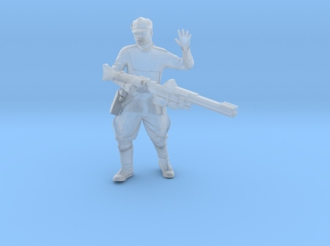 Clone Officer Set-1 Legion Scale  3D Print 257431