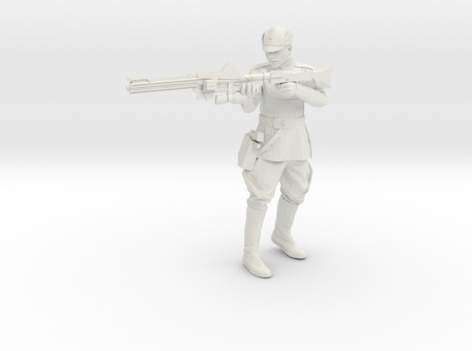 Clone Officer Set-1 Legion Scale  3D Print 257433