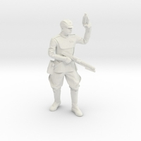 Small Clone Officer Set-1 Legion Scale  3D Printing 257435