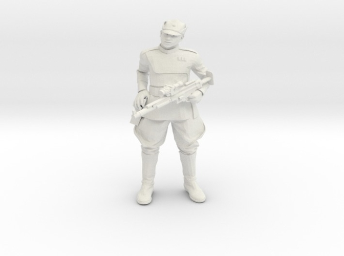 Clone Officer Set-1 Legion Scale  3D Print 257436