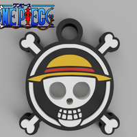 Small One Piece Pendant 3D Printing 257479