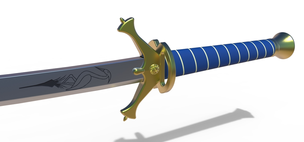 Heron Mark Sword from Wheel of time 3D Print 257572
