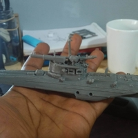Small G5 Boat russian war thunder  game 3D Printing 257670