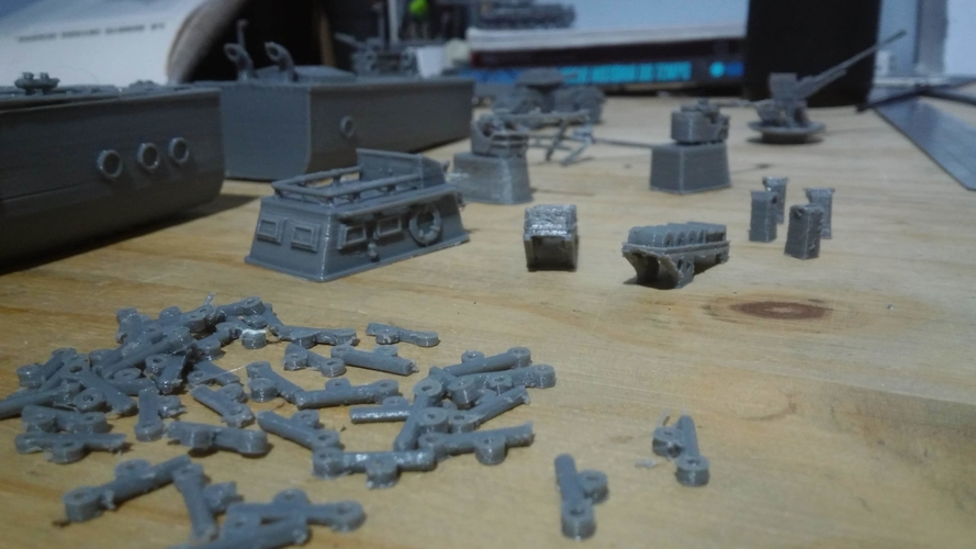 OD-200 Russian Warthunder game  3D Print 257675
