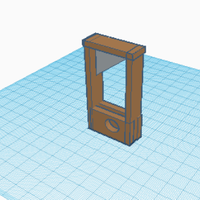 Small mini guillotine 3D Printing 257681