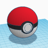 Small pokeball 3D Printing 257690