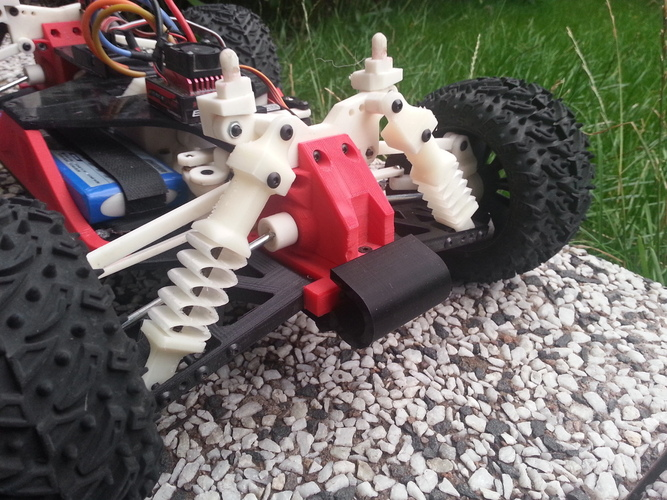 OpenRC 1:10 car shocks 3D Print 25772