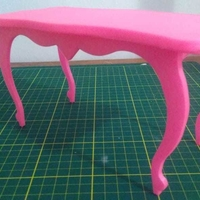 Small Dolls Table  3D Printing 257734