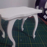 Small Small Dolls Table 3D Printing 257735