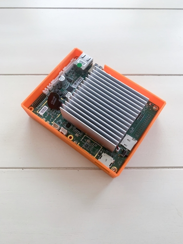 Atomic Pi Flush (new) Baby Breakout Board Case 3D Print 257743