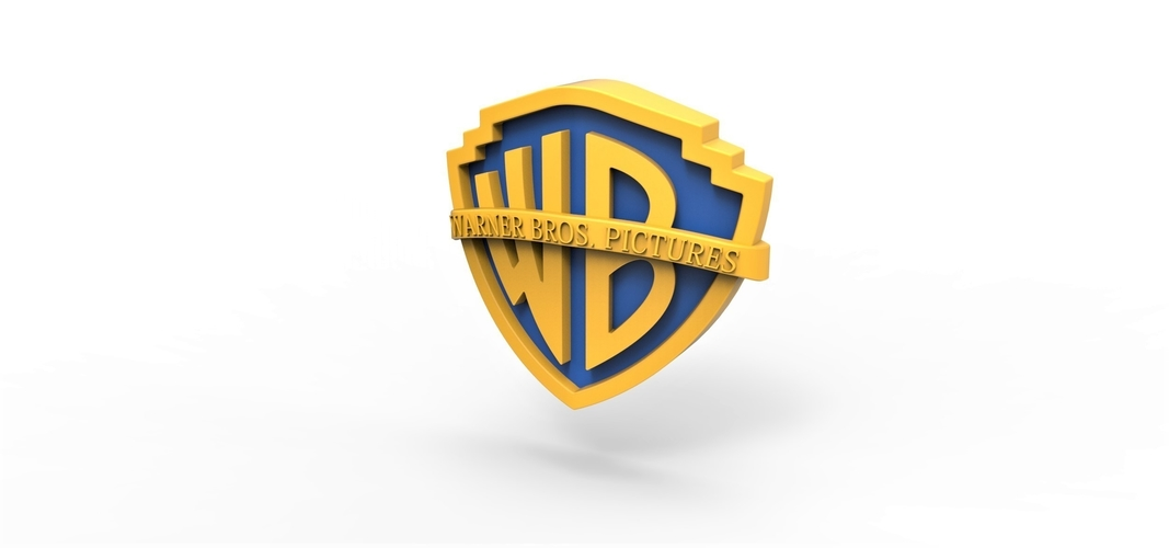 3D printable Warner Bros. Pictures logo 3D Print 257798