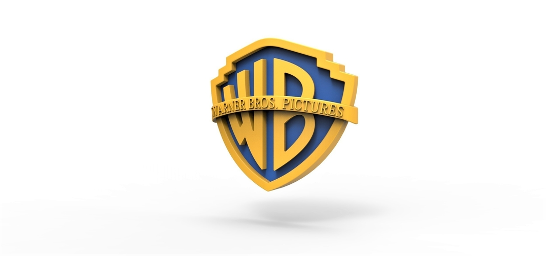 3D printable Warner Bros. Pictures logo 3D Print 257799