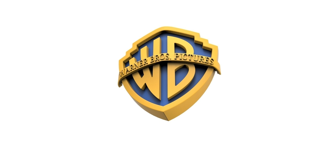 3D printable Warner Bros. Pictures logo 3D Print 257800