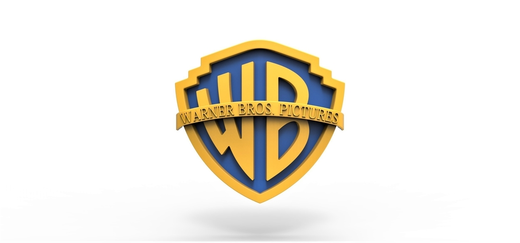 3D printable Warner Bros. Pictures logo 3D Print 257801