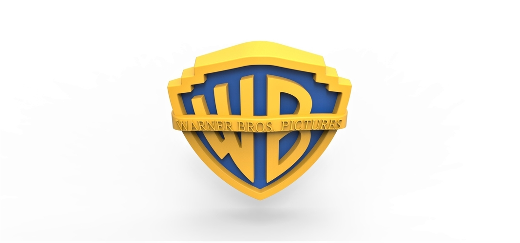 3D printable Warner Bros. Pictures logo 3D Print 257802