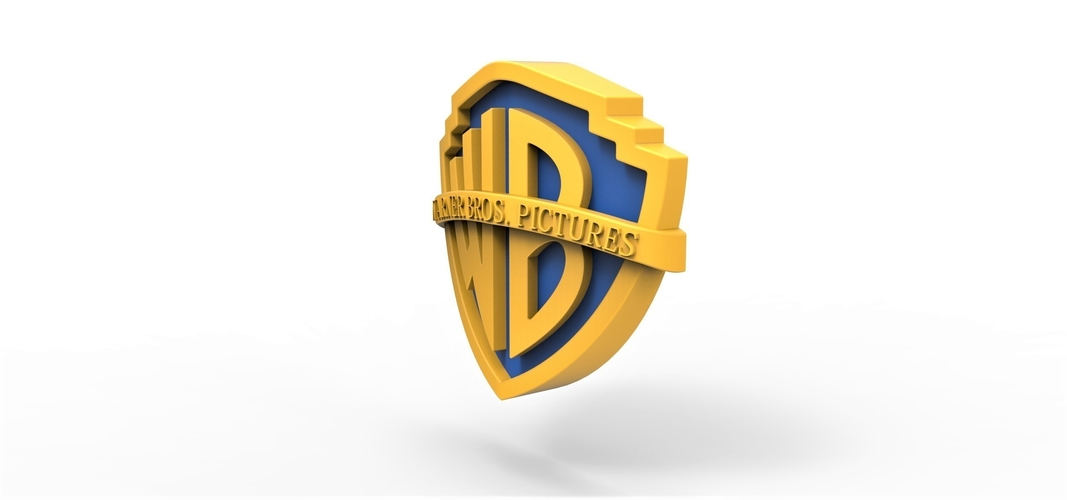 3D printable Warner Bros. Pictures logo 3D Print 257804