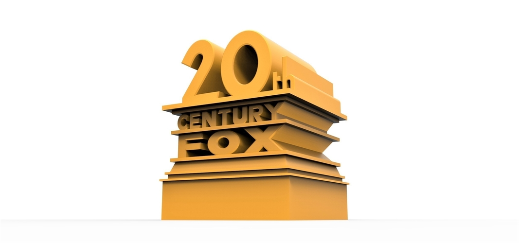 3D printable  20th Century Fox logo 3D Print 257858