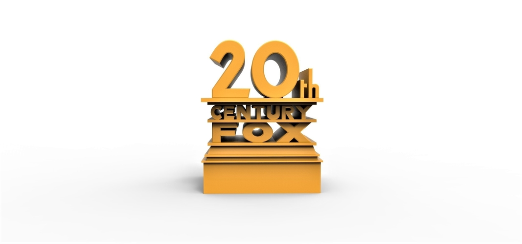 3D printable  20th Century Fox logo 3D Print 257861