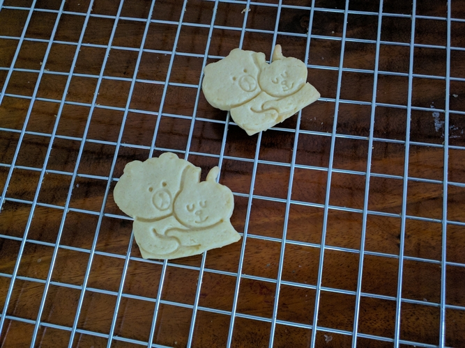 Cony & Brown cookie cutter 3D Print 257915