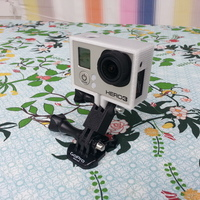 Small GoPro straight mount 35mm c/c 3D Printing 25793