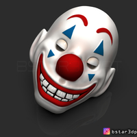 Small Joker Mask - Joker movie 2019 3D Printing 257956