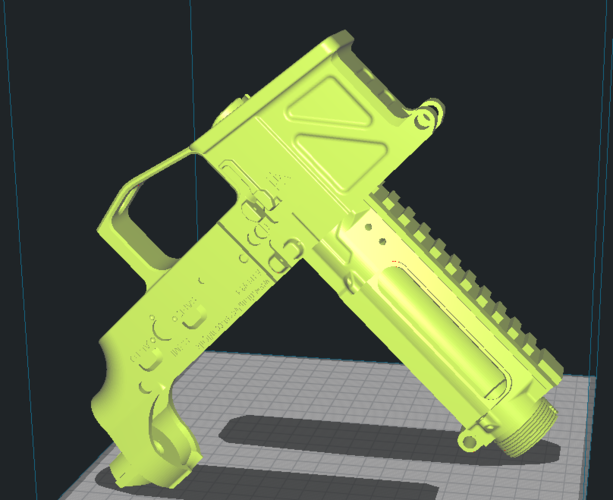 Printable Airsoft AR15 (PAAR15) AEG Body kit (08.12.19) 3D Print 257974