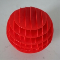 Small Sliceform Sphere 3D Printing 257997