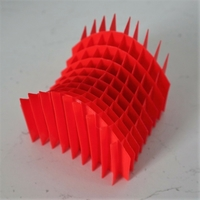 Small Sliceform Saddle (Hyperbolic Paraboloid) 3D Printing 258012